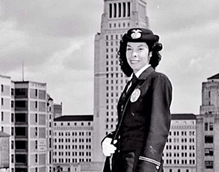 Collier opened the door for many women and Latinas in the department. (Photo/LAPD)