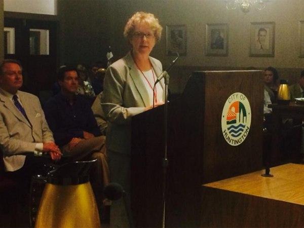 Judge Patricia Keller. (Photo/City of Huntington, W.Va. Facebook page)