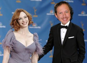 With the world not ending December 21, Photoshop was sadly the closest Kelly got to having Christina Hendricks by his side.