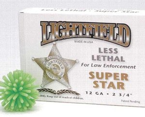 The Reno County Sheriff's Department will soon buy less lethal ammunition for subduing prisoners threatening or engaging in violent behavior. The Lightfield brand of less lethal ammo fires a kush ball to stun the victims. (Courtesy Image)