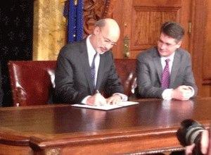 Pennsylvania Governor Tom Wolf. (Photo Tony Romeo)