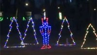 Prison inmates help create holiday light display
