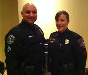 Cathy Watson and Javier Bustos (PoliceOne Image)