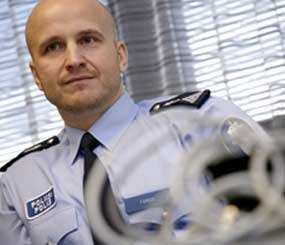 Sergeant Marko Forss was named Finland's Police Officer of the Year for his work in social media, most notably investigating sex crimes involving young people.