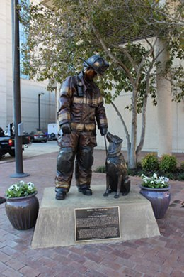 "Photo courtesy National Fire Dog Monument ""Ashes to Answers"" Facebook"