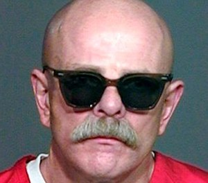 This undated prison inmate photo shows Aryan Brotherhood gang leader Barry