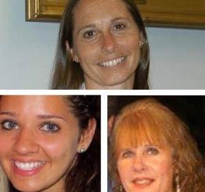 AP Photo PrincipalDawn Lafferty Hochsprung (top), teacherVictoria Soto (left), andschool psychologist Mary Sherlach.
