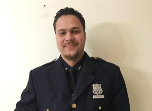 Correction Officer Daniel Leites. (Photo NYC Department of Corrections)