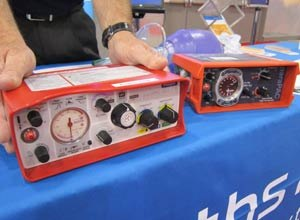 Image Jamie ThompsonThe paraPAC plus 310 oxygen delivery platform, seen at EMS World Expo in Las Vegas,is already being used in the field in the UK and parts of mainland Europe, and FDA approval is pending in the United States.