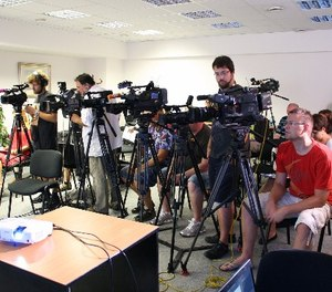 Scheduling regular press conferences is key to managing negativity.