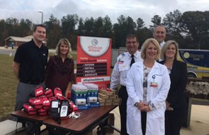 The Jeffrey Lee Williams Foundation Presents Masimo Rad-57® Pulse CO-Oximeters® to Members of the Piedmont Medical Center EMS (York County, South Carolina)