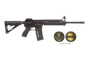 LMT Defense will be donating $100 from the sale of each SPM16LE rifle, distributed through Kiesler's Police Supply.  In total, LMT has pledged $25,000 in support for Spirit of Blue through product sales and social media fundraisers each year going forward.