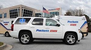 Photo courtesy of Priority Ambulance.