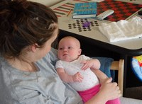W. Va. program lets jailed moms stay with babies