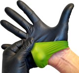 Green Means gotta GO! ResQ-GRIP Barrier Tested Glove. Request a free sample.