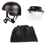 Patrol Ready -  LE Ballistic Helmet / Face Shield Combo