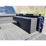 Pick-Up Truck Rapid Access Weapon Locker