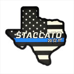 Staccato 2011 Texas Thin Blue Line Patch