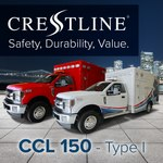 NEW - Crestline CCL 150 Type 1 Ambulance