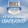 Researching options for a criminal justice master's degree?