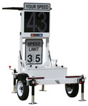 OnSite 300MX: Speed Trailer & Signs
