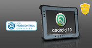SOL PA501 Android rugged tablet is SOTI ready and MIL-STD-461G certified