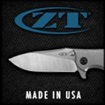 New Titanium Handle ZT 0562TI