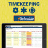 Multiple options for tracking volunteer or employee time