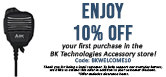Get 10% of your first purchase in the BKT store!
