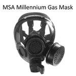 MSA Millennium Gas Mask - Medium Only - CLEARANCE