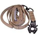 Adjustable Service Dog Leash with Frog Clip