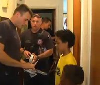 Video: Boy gives up PS4 money to buy smoke detectors