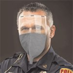 SABRE® ReadiMask™ Adhesive Sealing Particle Respirator