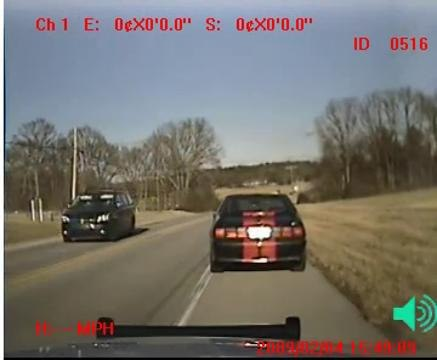 Watch Traffic Stop with 10-8 Video In Car Video System