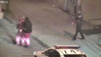 Baltimore cop suspended after fighting suspect