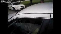Fla. cop shatters car window at traffic stop
