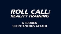 Reality Training: 3 tactics for defending against a sudden attack