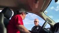 Texas police help woman announce pregnancy to her husband