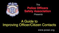 A Guide to Improving Officer/Citizen Contacts