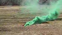 The Green Pocket Smoke Grenade from ALS Technologies