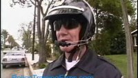 Advice on Motorcycle Traffic Stops from PoliceTrainingFilms.com
