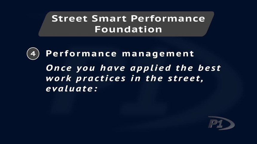 The 4 elements of improving police officer performance