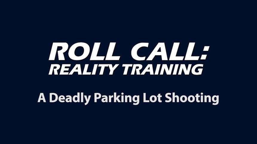 Reality Training: Spontaneous assault in a parking lot