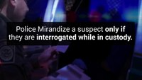 What do citizens need to know about their Miranda rights?