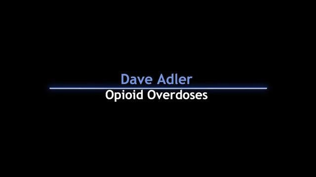 Opioid overdoses and police use of naloxone