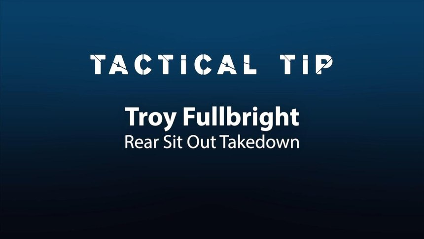 Tactical Tip: Taking down a fleeing suspect