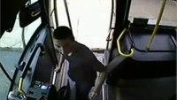 Violent assault on bus driver