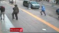 Brazen robbers caught on camera