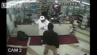 Store clerk disarms robber, chases him out of store