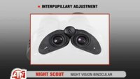 Versatile Night Scout Binoculars from ATN
